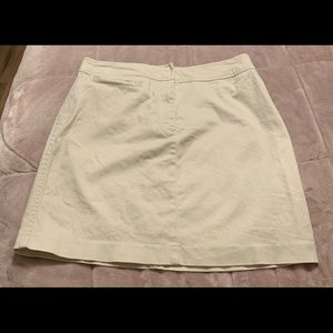 Tommy Hilfiger Stretch Khaki Mini Skirt Sz 8